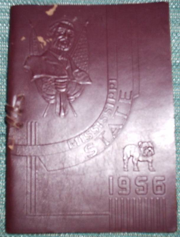 1956 MISSISSIPPI STATE SPRING COMMENCEMENT PROGRAM RARE