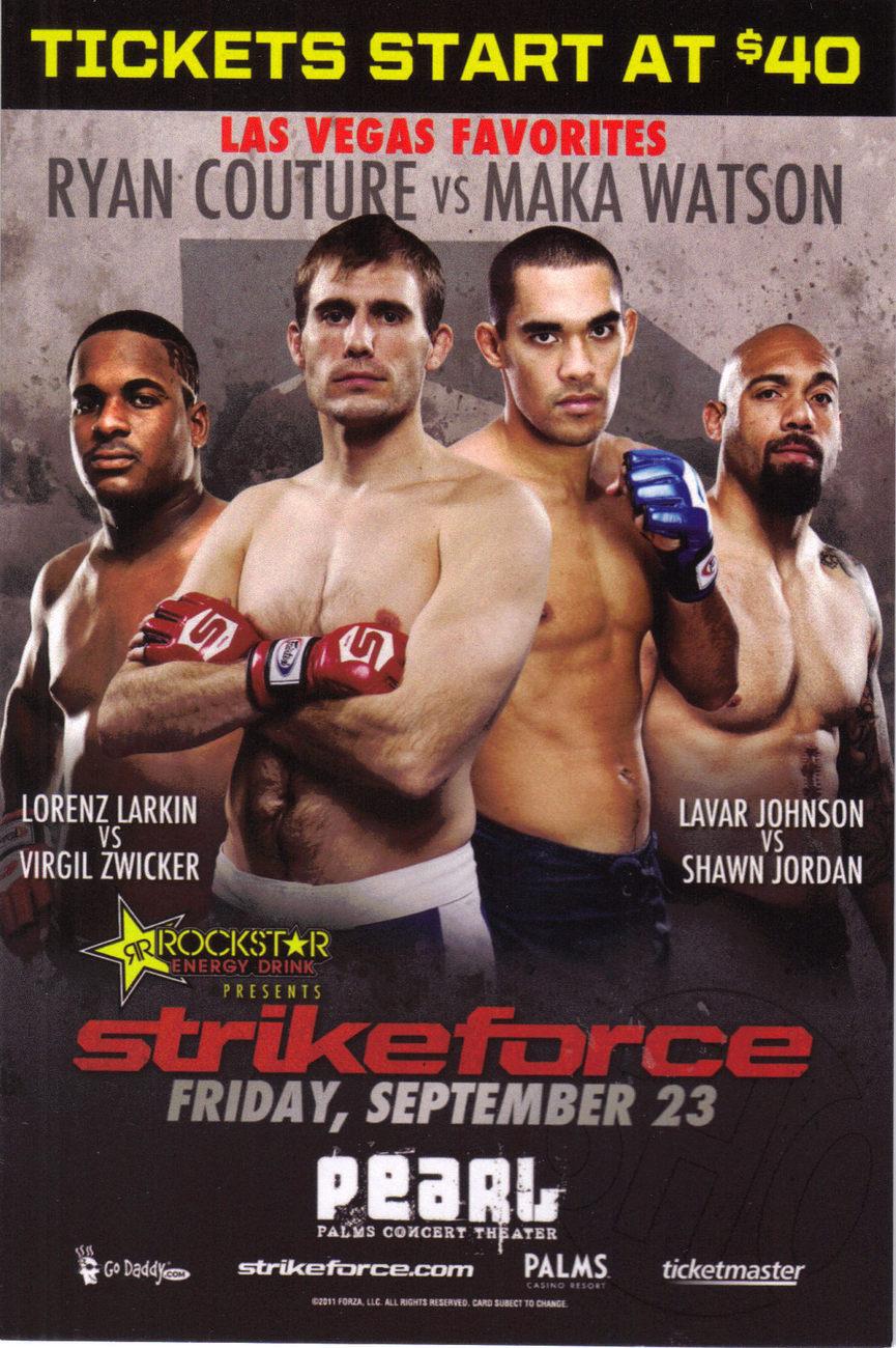 Boxing strikeforce