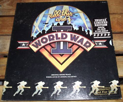ALL THIS AND WORLD WAR 2  LP 1976 Deluxe Edition PROMO