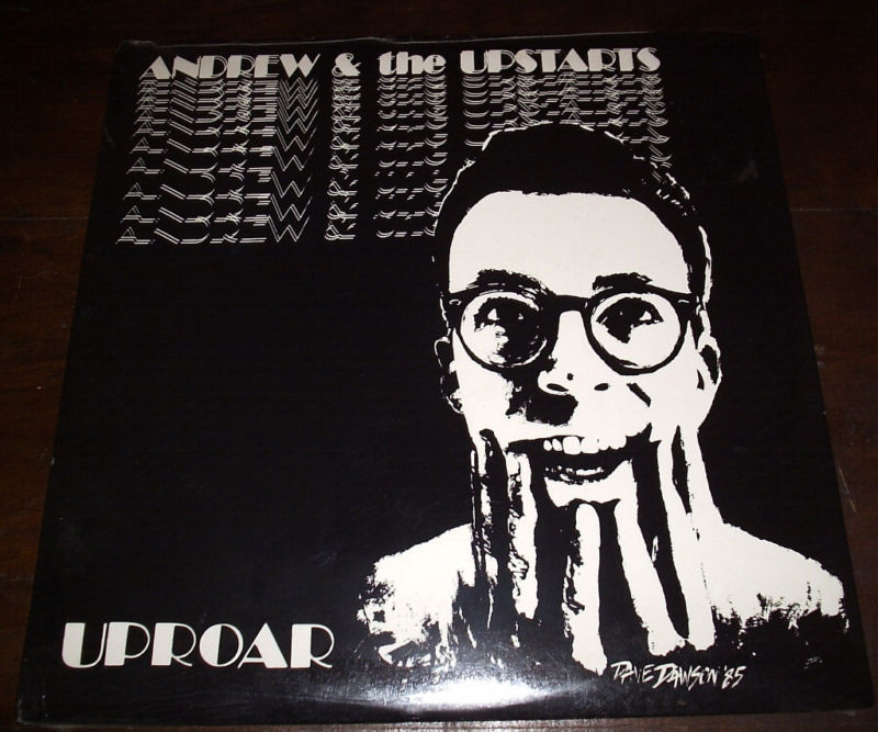 ANDREW AND THE UPSTARTS Uproar LP SEALED