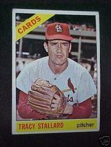1966 Topps Tracy Stallard P Cardinals Baseball Card 7 - $1.87