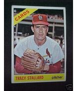 1966 Topps Tracy Stallard P Cardinals Baseball ... - $1.87