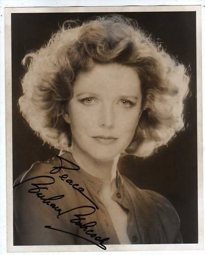 BARBARA BABCOCK SIGNED GLOSSY 8 x 10 PHOTO