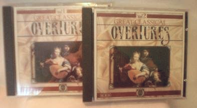 Great Classical Overtures Vol. 1 & 2 ~ CD's - S-4591 & S-4592