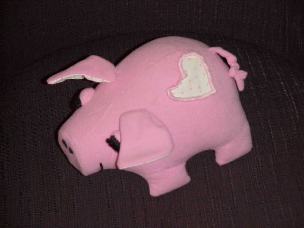 Dolls  Precious Moments  Adorable Toy  Pink Pig  Lot of 4