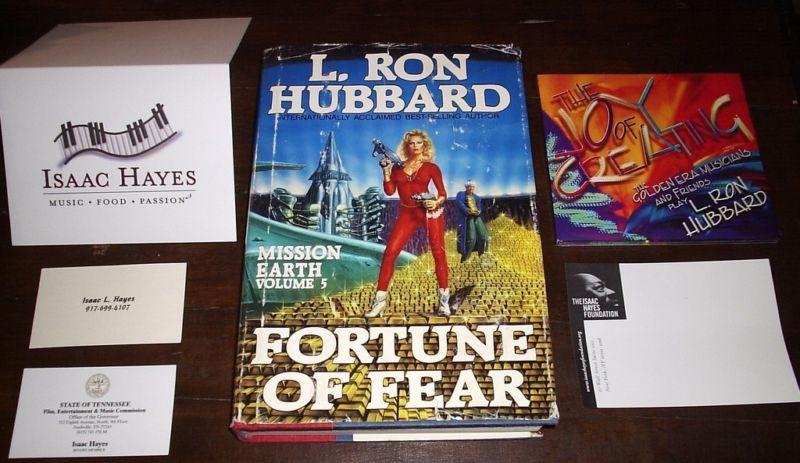 FORTUNE OF FEAR VOLUME 5 HUBBARD Isaac Hayes Estate