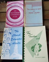 FOUR SUNDAY SCHOOL BOOKS FROM THE 1950's - $11.20
