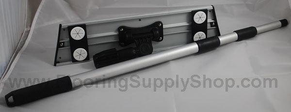 Pro Grade Aluminum Swivel Mop and Pole