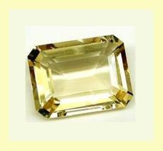 1.73ct Natural GOLDEN BERYL Emerald Cut 9x7mm Loose Gemstone - $39.99
