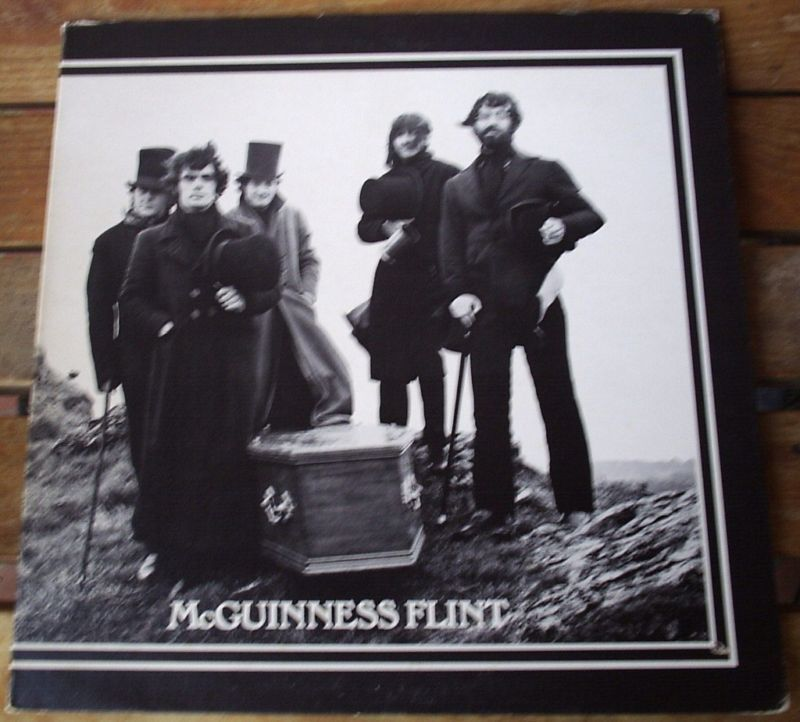 McGUINNESS FLINT Self-Titled LP CAPITOL RECORDS
