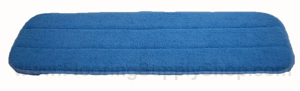 Light Duty Microfiber Wood and Stone Pad Blue