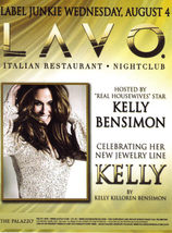 KELLY BENSIMON Hosts Label Junkie Wednesday Aug 4 at LAVO Las Vegas Prom... - $1.95