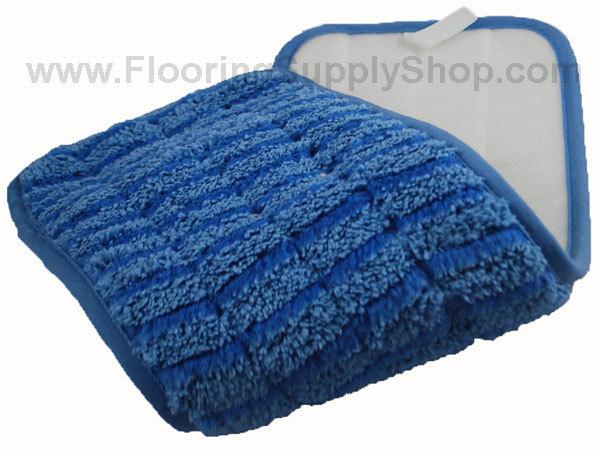 Microfiber Micro Wet Scrubber Pad Blue