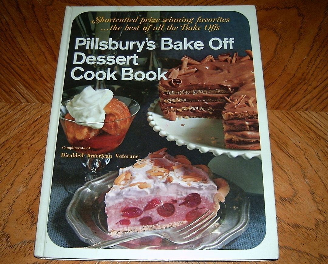 Primary image for Pillsburys Bake Off Dessert Cook Book Shortcutted Prize Win