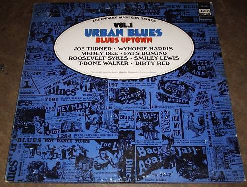 URBAN BLUES Blues Uptown VOL.1 LP LIBERTY RECORDS PROMO