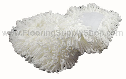 Microfiber String Duster Pad White