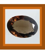 1.69ct SMOKY QUARTZ Oval Cut 9x7mm Faceted Loose Gemstone - $10.99