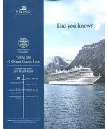 VIKING OCEAN CRUISES 2018-2020 /BALTIC /NORTHERN EUROPE /MEDITERRANEAN /... - $20.79