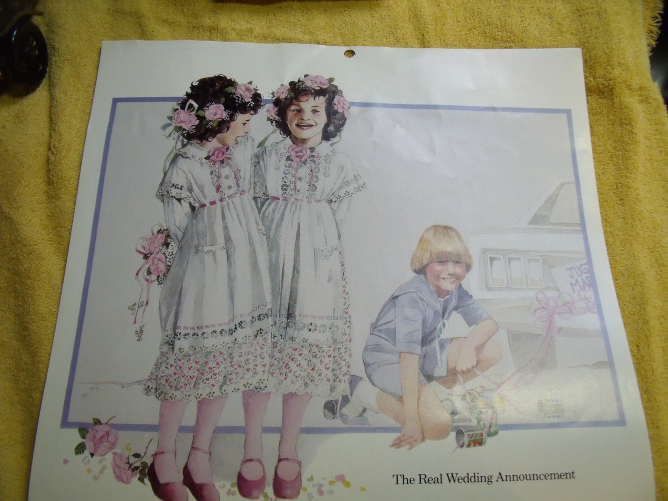 Avon 1983 Childhood Moments Calendar