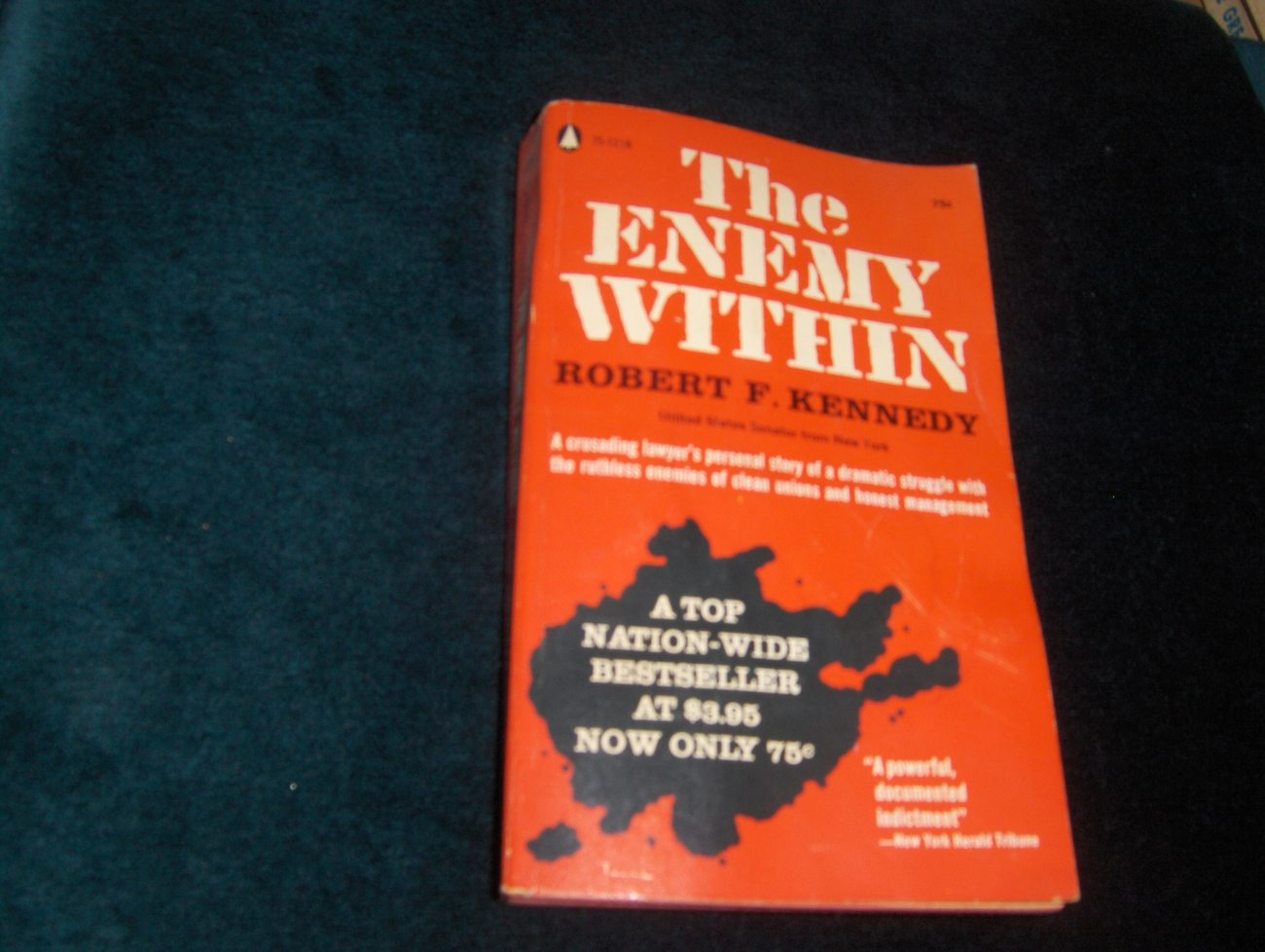 The Enemy Within by Robert F. Kennedy 1960