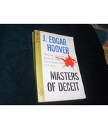 J. Edgar Hoover Masters of Deceit 1963 - $22.00