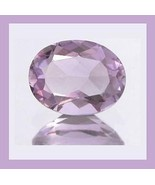 3.18ct AMETHYST Oval 12x8mm Violet Faceted Loose Gemstone - $29.99