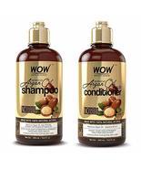 WOW Moroccan Argan Oil Shampoo and Conditioner Set, Increase Moisturization, Hyd - $52.50