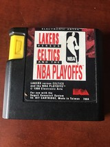 Lakers versus Celtics and the NBA Playoffs for Sega Genesis CLEAN LABEL - $1.98
