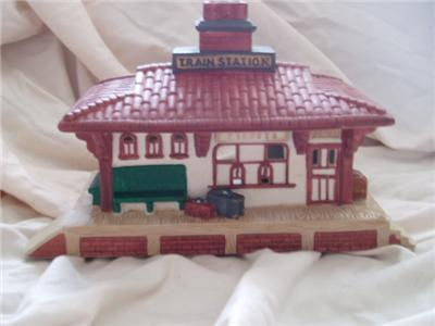 Partylite Whistle Stop Train Station Party Lite