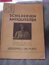 Schilderijen Antiquiteiten 1944 sale catalog, Amsterdam - $20.00