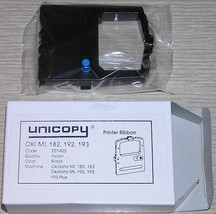 6 - Unicopy 201403 Okidata Compatible Printer Ink Ribbons ML 182, 183, 1... - $12.99
