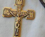 Golden metal cross thumb155 crop