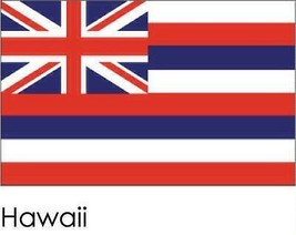 Hawaii State Flag 3' by 5' with grommets TG 19512 - $28.99