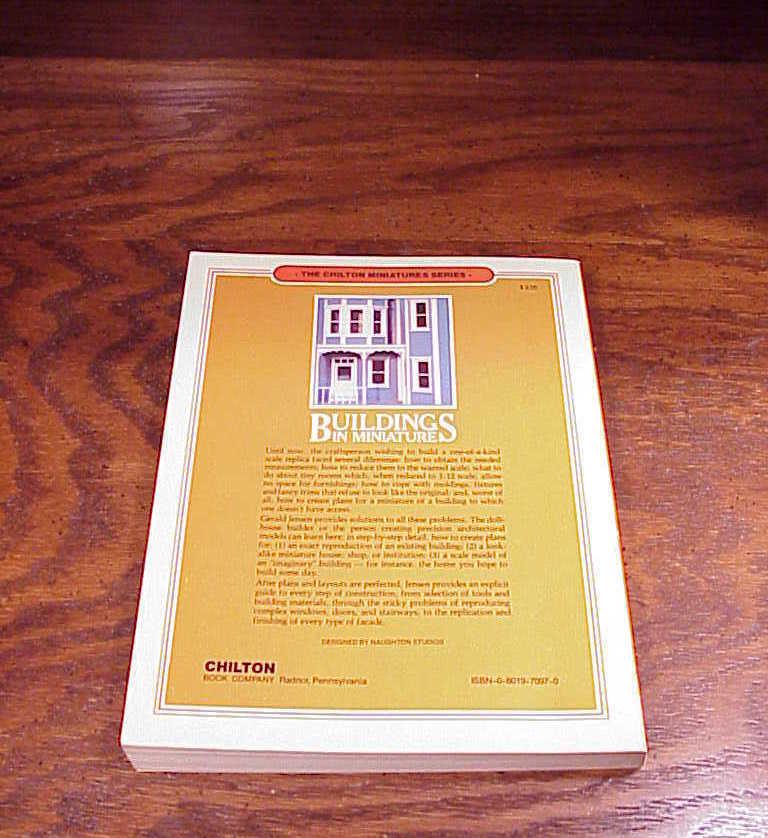 Buildings in Miniature Book by Gerald E. Jensen, Chilton