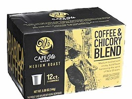H-E-B Cafe Ole Coffee and Chicory Blend 2 pack (24 pods) - $32.97