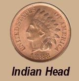 ROLL OF 50 MIXED INDIAN HEAD PENNIES