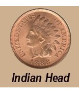 ROLL OF 50 MIXED INDIAN HEAD PENNIES - $79.95