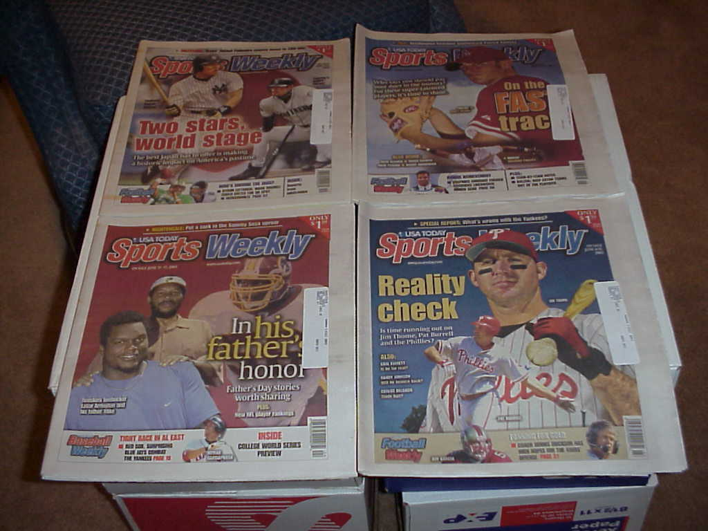 Primary image for Sports Weekly   57 Issues       2001,2003,2004