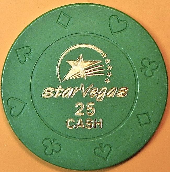 $25 Casino Chip. Star Vegas, Poipet, Cambodia. Q05. - $6.50