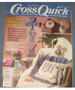 Cross Quick Cross Stitch Magazine Feb/Mar 1990 - $3.75