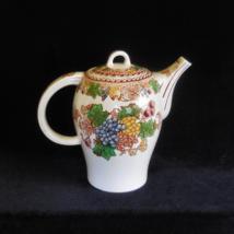 Woods Transfer Ware Coffee Pot in the Hyde pattern - $54.00