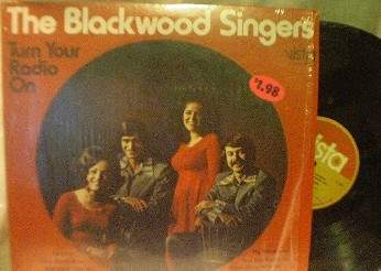 The Blackwood Singers - Turn Your Radio On - Vista Records - R 1251