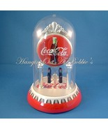 Coca Cola Clock Revolving Bottle Pendulum Dome Cover New Unused - $29.99