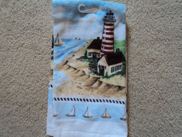 Kay dee designs nautical kitchen terry towel nwt towels Kay dee designs kitchen towels