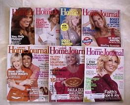 LADIES HOME JOURNAL 2008 JAN/FEB/MAR/JUL/AUG/OCT/NOV-HEALTH,BEAUTY,DIET-... - $24.99