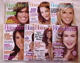 LADIES HOME JOURNAL 2009 JAN/FEB/APR/JUN/OCT/NOV/DEC-HEALTH,BEAUTY,DIET-... - $24.99