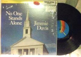 JIMMIE DAVIS - No One Stands Alone - Vocalion VL 73676 - $3.00