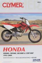 2004-2009 Honda CRF100 Clymer Service Repair Shop Manual CRF100F M222 - $29.59
