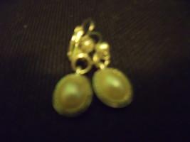 Pearl Dangle Earrings-Vintage - $18.00
