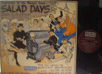 Salad Days - Original Cast Recording - Oriole MG 20004
